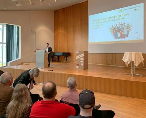 Start der Bildungsplattform in Karlsruhe im November 2019