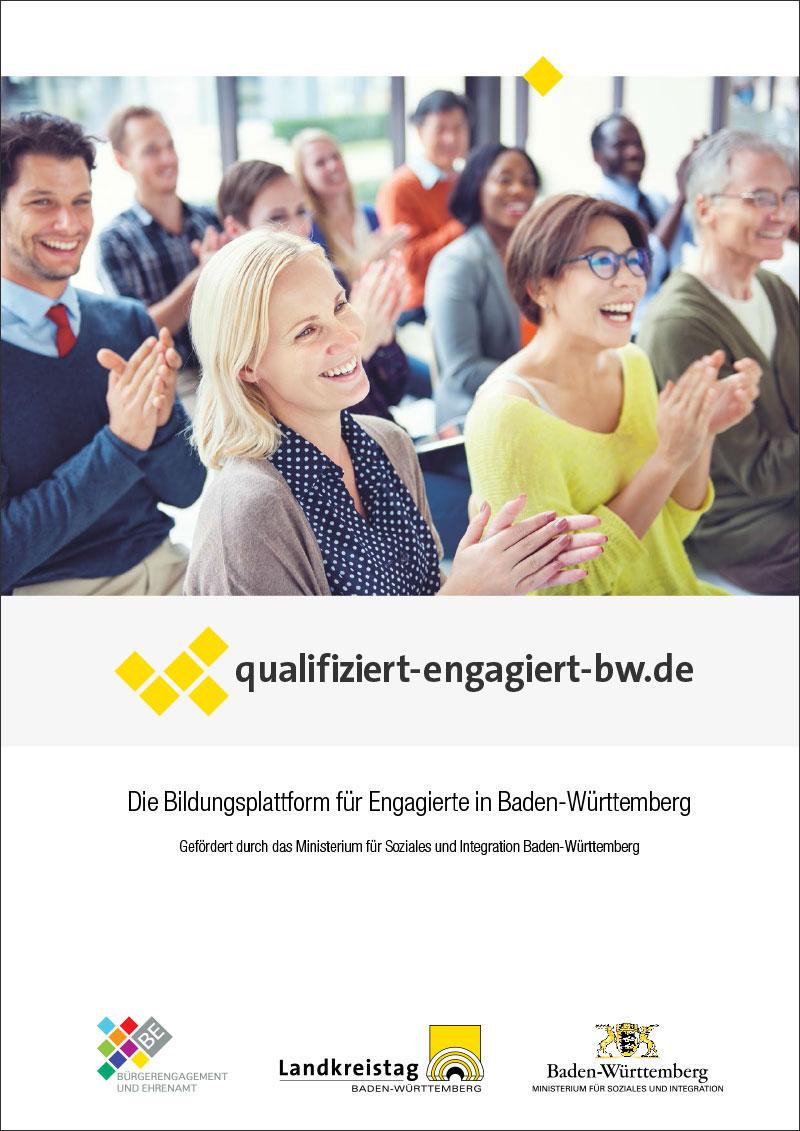 Titelseite der Kurzinformation über die Bildungsplattform