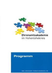 Programmheft Hohenlohekreis